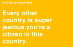 Dialaphone Weekly Web Highlight - Emergency Compliments #Technology #Funny #Humour