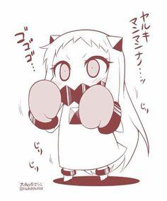 :3 lovely Kantai Collection, Kawaii Chibi, Chibi, Character Design, Character Art, Mecha Anime, Kawaii Drawings, Fan Art, Cute Anime Pics
