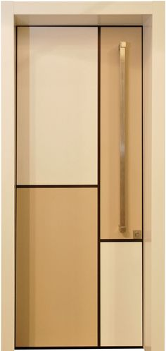 דלת מונדריאן, דלתות כניסה מעוצבות בנגיעה אומנותית ליין - ART- רשפים