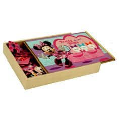 #Wooden Puzzle #Minnie Mouse