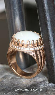 925 K Sterling Silver Man Ring #erkek #yüzük #elmasis #jewelry #gumus