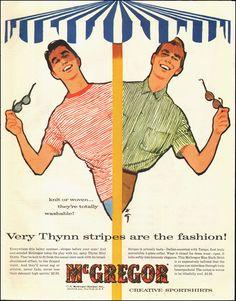 McGregor Sportshirts, 1956