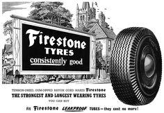 Vintage Advertisements, Vintage Ads, Firestone Tires, Monster Trucks, Cover Art, Man Cave, Tired, Wheels, Mid Century