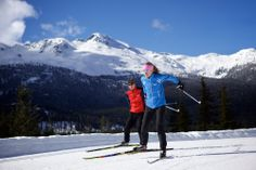 Cross Country Skiing season starts soon in Whistler resort. Enjoy the large amount of trails available during the Winter season. Photo by: Toshi Kawano