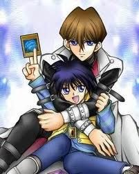 Seto and Mokuba. This is adorable!