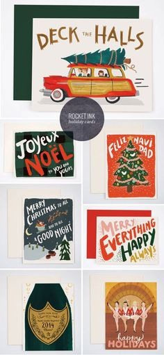 Rocket Ink Holiday Cards