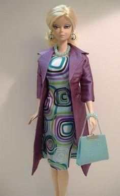 VERSION ONE -New Handmade Dress & Coat Set for Silkstone Fashion Model Barbie