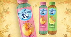 Thè San Benedetto - Organic Lemon And Peach Tea on Packaging of the World - Creative Package Design Gallery