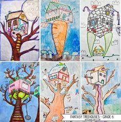Fantasy Treehouses