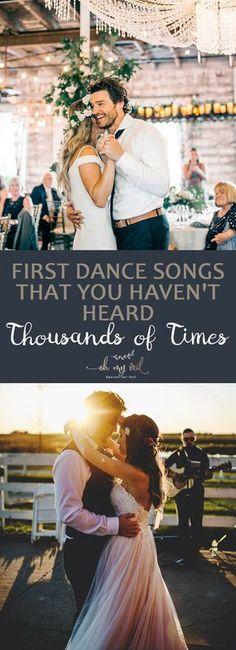First Dance Songs That You Haven't Heard Thousands of Times| DIY Wedding, First Dance Wedding Songs, First Dance Songs, First Dance Wedding Songs Unique, Popular Pin #Wedding #WeddingIdeas #EasyWeddingIdeas #FirstDanceSongs #FirstDanceWeddingSongs