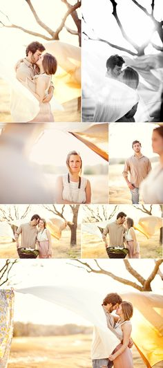 Taylor Lord Photography- fun idea, cute sheets on a clothesline on a windy day!