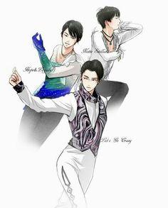 Yuzuru Hanyu and his different programs