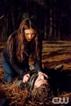 """""""Let the Right One In"""" - Nina Dobrev as Elena, Paul Wesley as Stefan in THE VAMPIRE DIARIES on The CW. Photo: Bob Mahoney/The CW ©2010 The CW Network, LLC. All Rights Reserved."""