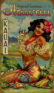 Hawaii  {Love this Vintage Poster}
