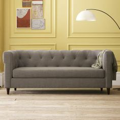 I literally can't stop dreaming about this couch....if only the size of my wallet was in harmony with the price tag of my taste #ilovewestelm