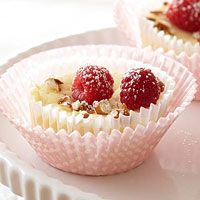 Mini French Cheesecakes with Berries