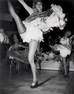 JEAN MORAL 1906-1999  French Cancan, Paris, 1939.