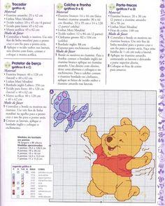 Winnie the Pooh ponto cruz