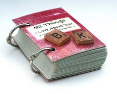 """Such a sweet and sentimental idea! ...definitely just spoofed this for my mom for Mother's Day :)  Instead of a whole deck of cards, I just used the """"hearts,"""" which made a sweet little card."""