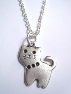 Silver Plated Cat