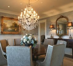 that's an amazing dining room,i love round tables