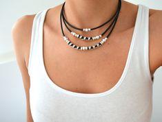 #jewellery #necklace #black