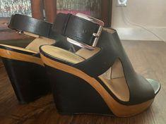 Michael Kors wedge heel black