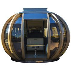 Buy Farmer's Cottage Grande Deluxe Garden Summerhouse Pod from our Garden Pods & Buildings range at John Lewis & Partners. Free Delivery on orders over Garden Pods, Electrical Work, Side Window, Garden Buildings, Luxury Sofa, Architectural Features, Wood Laminate, Cottage Design, Outdoor Rooms