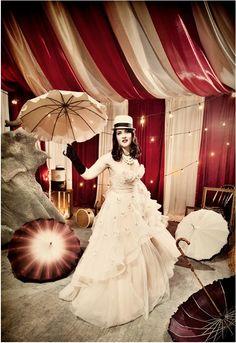 Vintage circus wedding Gala #circuswedding #styledshoot #weddinginspiration