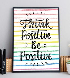 Positivity Wall Quote Print Wall Quotes, Quote Prints, Inspirational Quotes, Positivity, Frame, Etsy, Life Coach Quotes, Picture Frame, Inspiring Quotes