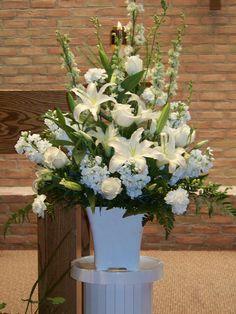 Wedding Altar Flowers | Mitchells Flowers | Flickr