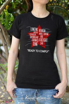 Bleach Shirts, Cool Shirts, Fandom Fashion, Geek Fashion, Marvel Clothes, Winter Kids, T Shirt Diy, Winter Soldier, Looks Cool