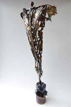 GAHR   Figurative Sculptures   Welded Sculpture   Bronze And Steel Sculpture