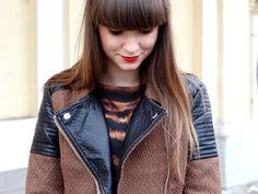 http://blogmanekineko.blogspot.com/2015/02/brazowa-ramoneska-outfit.html brązowa ramoneska