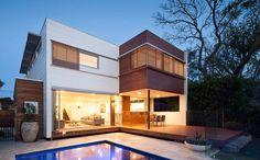 Modscape Modular Homes - Innovative Prefab Homes - Victoria - NSW - Australia Wide Small Modular Homes, Modular Housing, Timber Battens, Natural Building, Eco Friendly House, Modular Design, Prefab Homes, Modern House Design, Modern Architecture