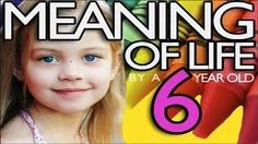 meaning of life explain by 3rd grader - YouTube