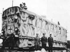 The Panzertriebwagen Armored Rail-Cruiser