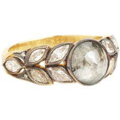 idea ring:  Cathy Waterman Grey Diamond Ring