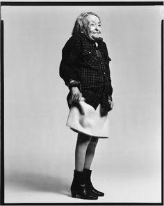 Marguerite Duras by Avedon