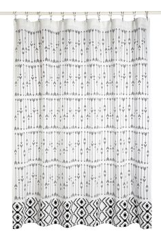 Home Scenic Home Shower Curtain. The view out your floor-to-ceiling windows makes every guest catch their breath in awe, but the true spotlight of your home is the decor, which features pieces such as this printed shower curtain! #white #modcloth