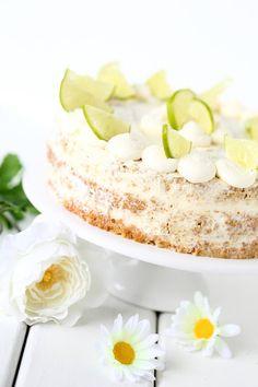 Suklaapossu: Lime-valkosuklaa-nakukakku, liivatteeton #kakku