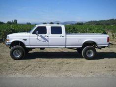 Lifted Ford Trucks, Cool Trucks, Pickup Trucks, Lifted Dually, Used Trucks, Trucks And Girls, 1997 Ford F350, Diesel Trucks For Sale, Ford Obs