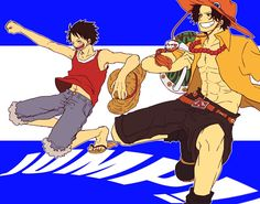 One Piece, Ace, Luffy