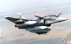 French Armée de l'Air Dassault Rafale B (biplace = two seater).