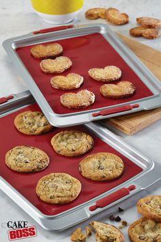Cake Boss 2-Piece Silicone Baking Mat Set