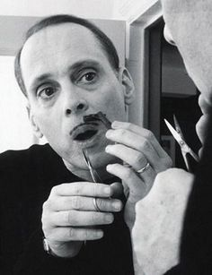 Mo maintenance with John Waters #movember