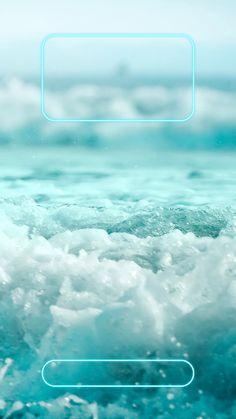 ↑↑TAP AND GET THE FREE APP! Lockscreens Art Creative Water Sea Summer Blue White HD iPhone 6 Plus Lock Screen