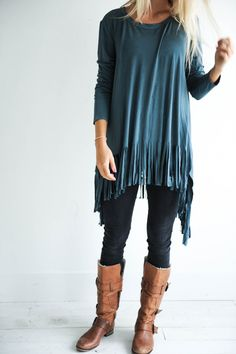 Wear this amazing top with leggings or skinny jeans for a feminine & chic look.