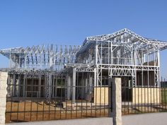Portfolio of The Lightweight Steel Structures Factory - UnicRotarex®. Steel houses and industrial buildings done by our technology in the entire world. Steel House, Steel Buildings, Steel Structure, Civil Engineering, Steel Frame, Civilization, 1, Industrial, Architecture