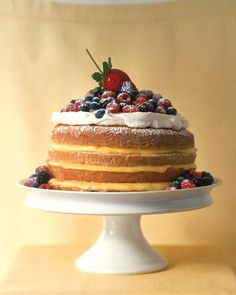 1-2-3-4 Lemon Cake Recipe. The name of this old-fashioned cake comes from the simple formula used for measuring the main ingredients: one cup butter, two cups sugar, three cups flour, and four eggs.